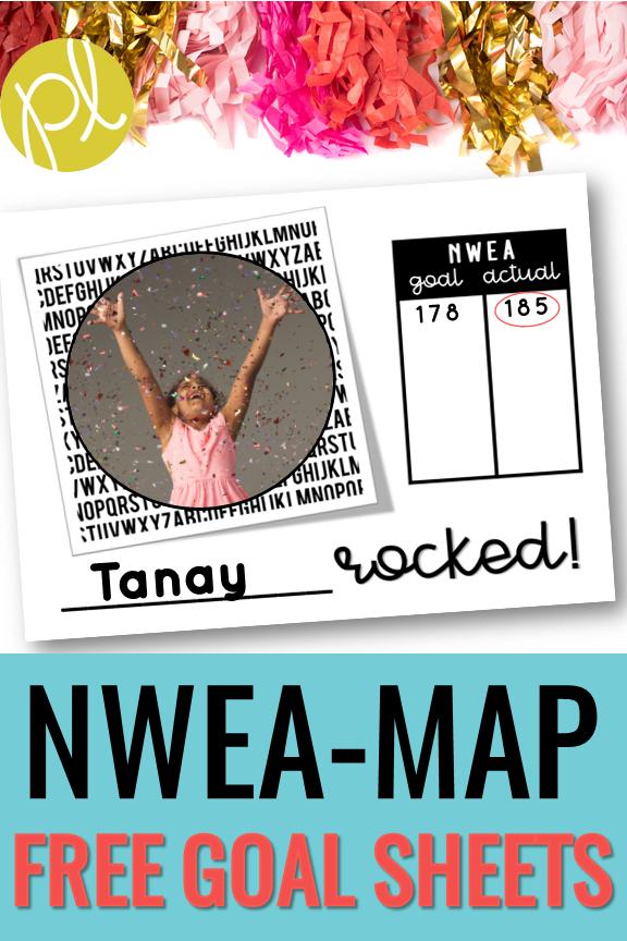 NWEA MAP Free Goal Sheets