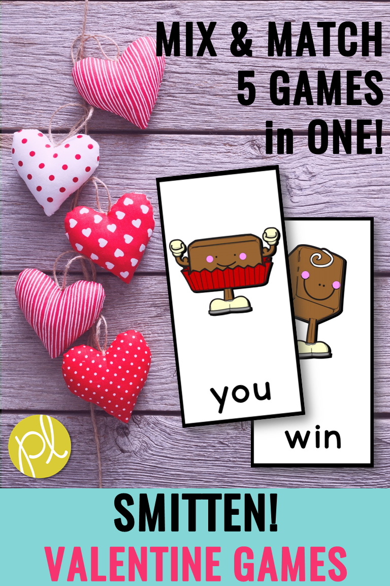 Happy Valentine's Day! Keep phonics learning going throughout February with this fast-paced game! From Positively Learning