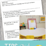 Pulling Small Groups throughout the day -Tips and Tricks for Success! from Positively Learning Blog
