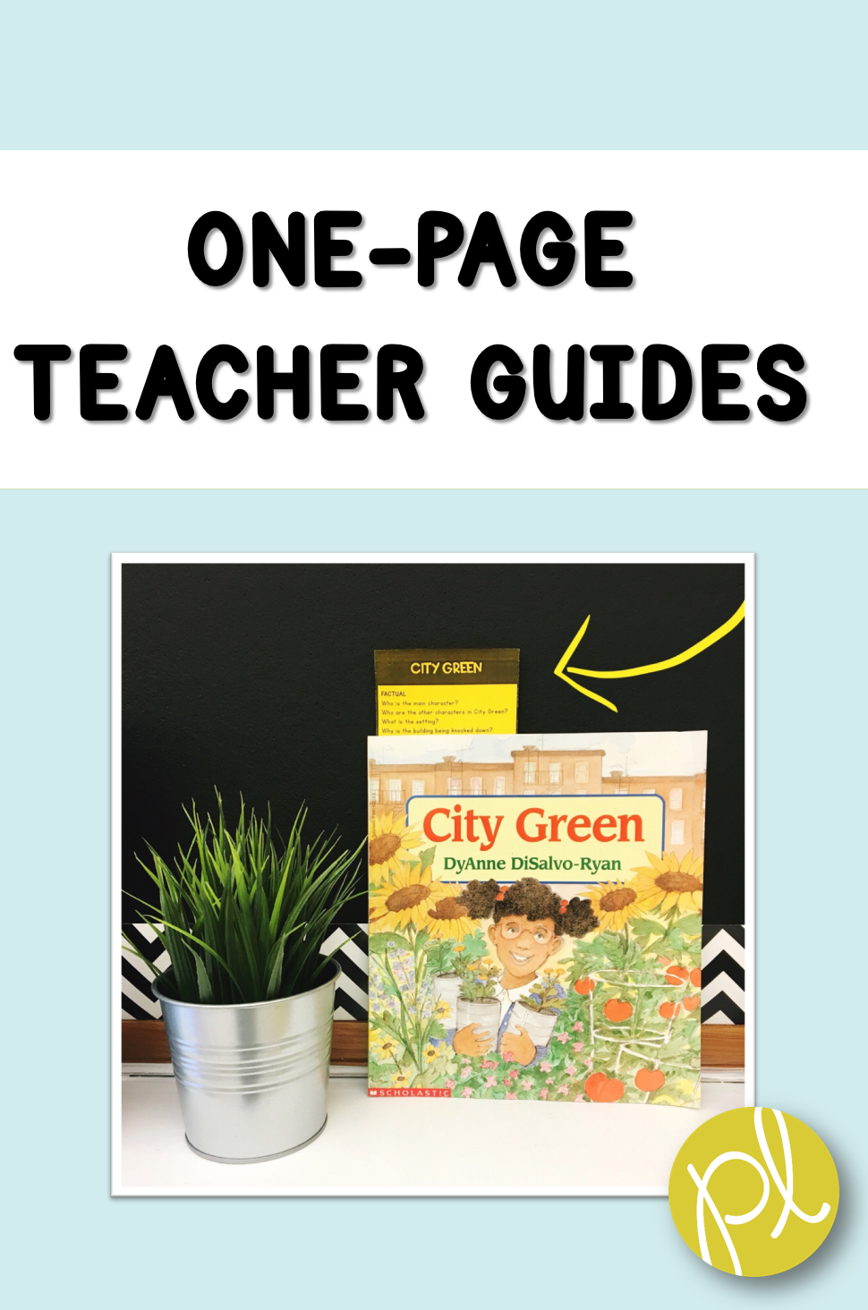 Positively Learning Book Tuck One Page Book Companions