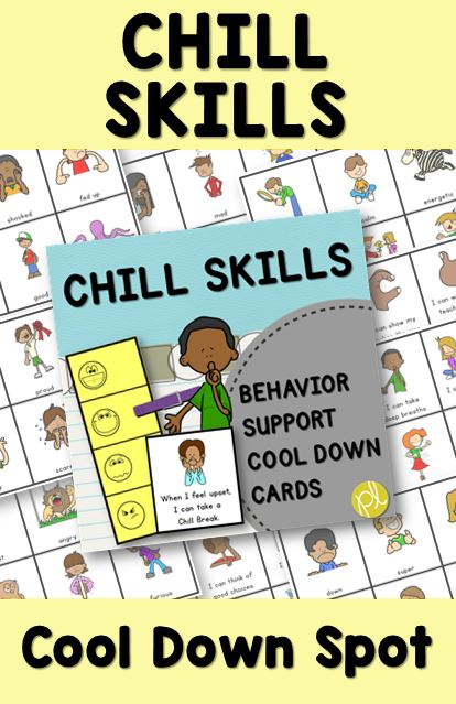Create a Cool Down Spot in your classroom with this Chill Skills resource! From Positively Learning