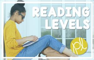 Free Reading Level Charts