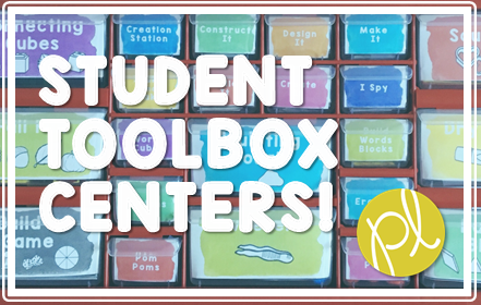 Learning materials all in one place for students with these toolbox centers! From Positively Learning