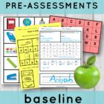 Literacy Pre-Assessments for K-1