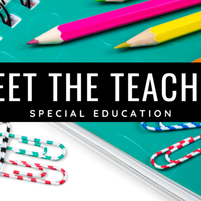 Meet the Special Educator