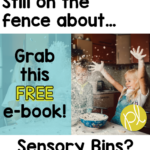Sensory Bins in the classroom? Are you wondering about the mess? And what are the students learning...it looks like play, These are some of the same thoughts I had four years ago when I started incorporating sensory bins in the classroom! Download this free e-book to learn more about my experience and prepare for your own!