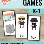 Free Literacy Games for Small Groups