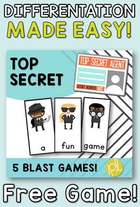 Differentiation made EASY with this free game download! From Positively Learning