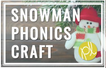 Snowman Word Work
