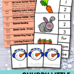Nibble, Nibble, Crunch, Crunch! Your students will love this poem about a chubby little snowman!
