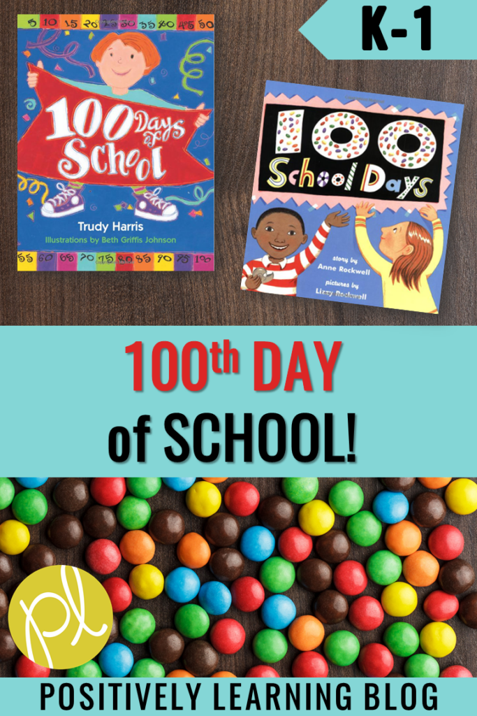 Happy Day 100! Celebrate with your Guided Reading groups using this free download perfect for Level D kindergarten and first grade students. From Positively Learning Blog