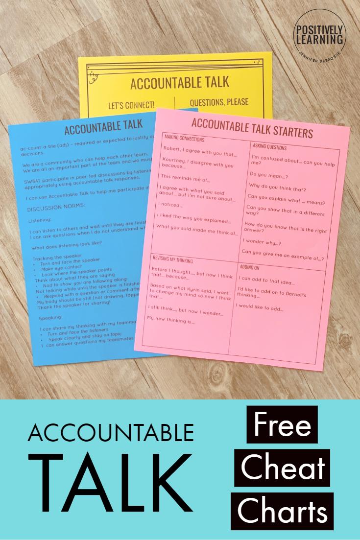 Free Accountable Talk