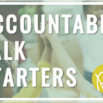Do your students use accountable talk to push their thinking? Download these free sentence starters from Positively Learning Blog!