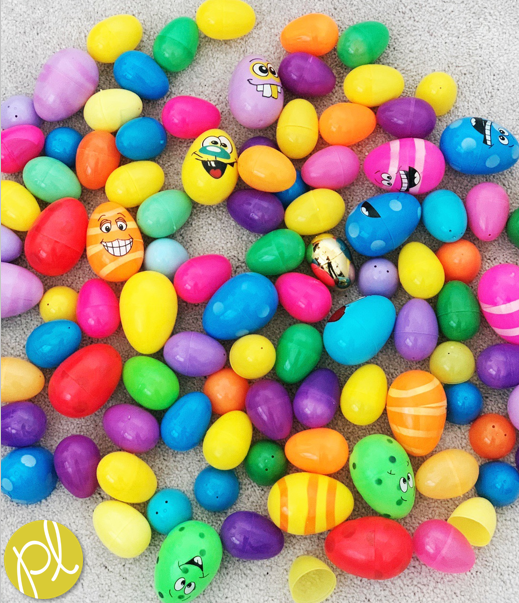 20 learning activities using plastic Easter eggs! Math, literacy, STEM, and more! From Positively Learning Blog #eastereggs