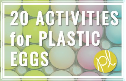 Hands-On Activities for ALL those leftover Easter plastic eggs! Try one of these with your students today. From Positively Learning Blog