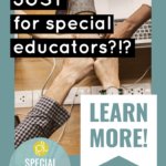 Membership for Special Educators!
