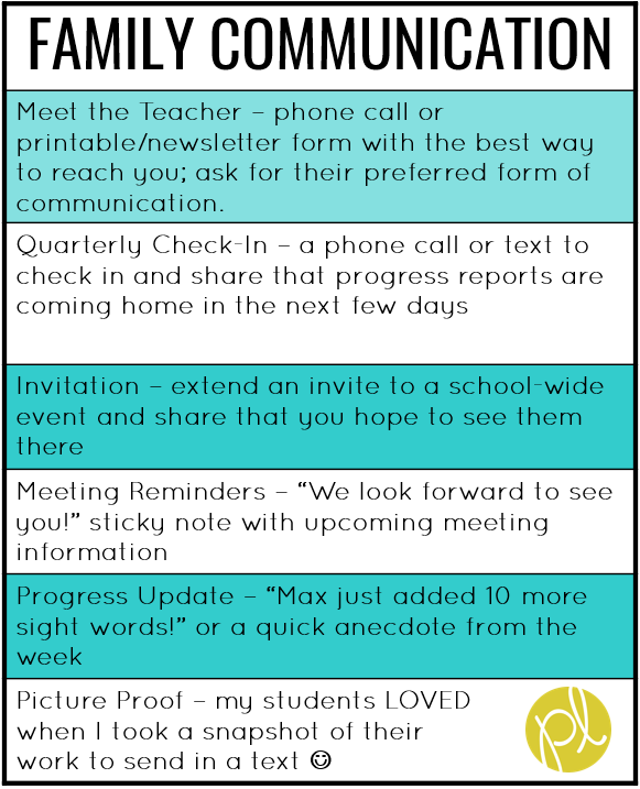 Grab these free sticky note IEP Meeting reminders! An easy way to stay in touch with students' families. From Positively Learning