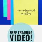 paraprfrofessional training