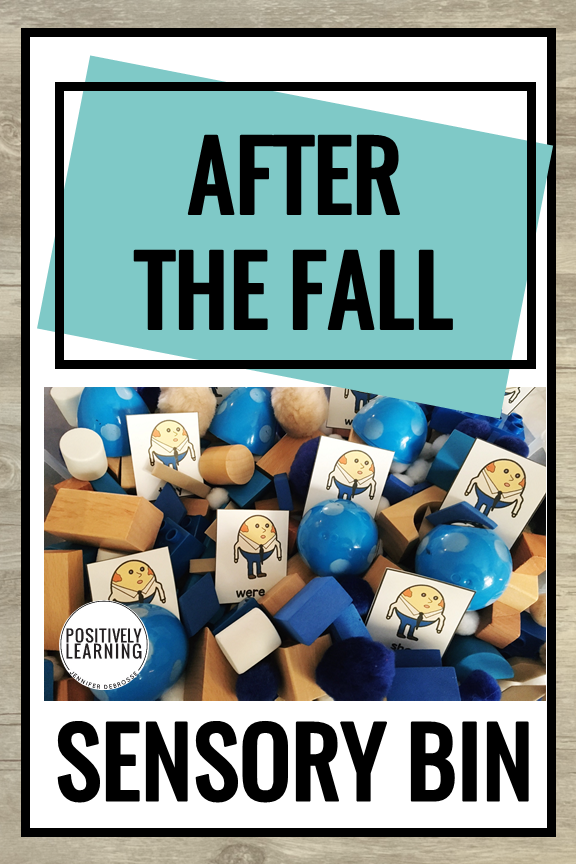 After the Fall Sensory Bin