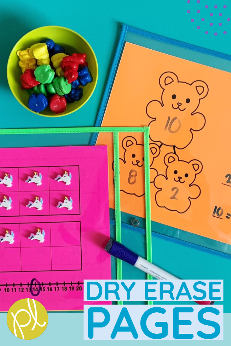 Dry Erase Page Inserts
