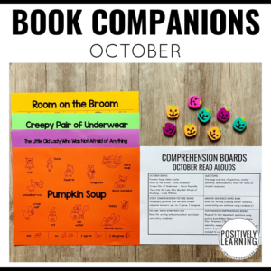 Halloween Book Companions