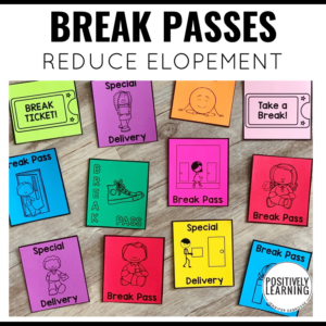 Break Passes for Behavior Support