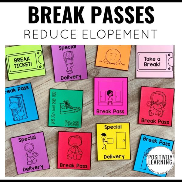 Break Passes for Behavior Support
