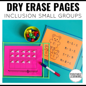 Dry Erase Pages