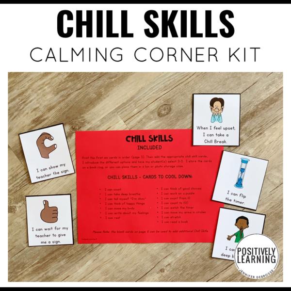 Calm Down Corner Classroom