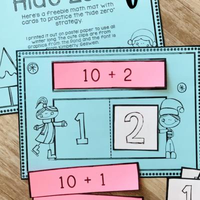 Free Hide Zero Math Game