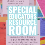 Special Educators Resource Room