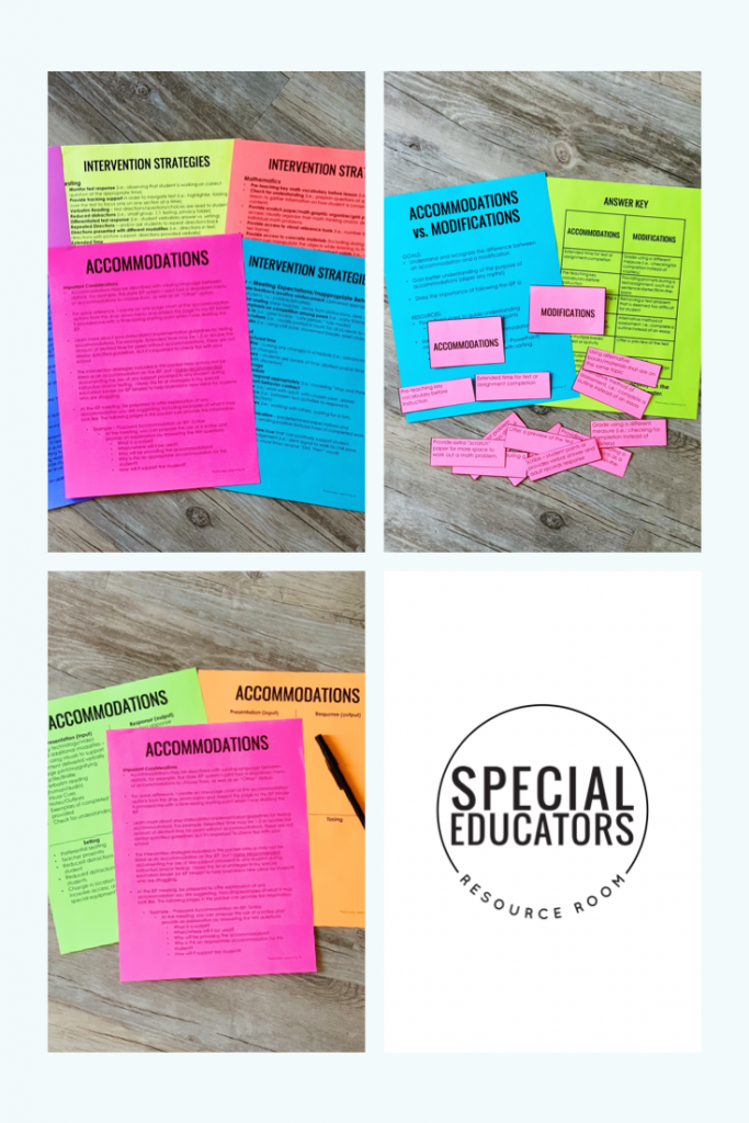 HELP for Special Educators!