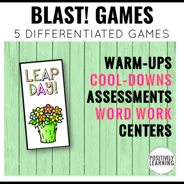 Leap Year Games!