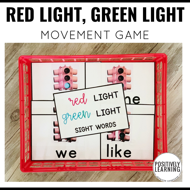 It's so easy differentiate with this huge set of movement cards! Add this classroom game to your brain breaks and transitions.