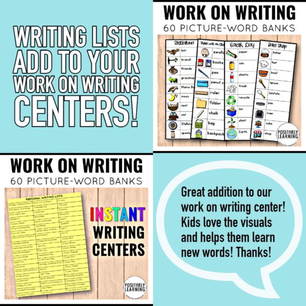 Writing Center Lists