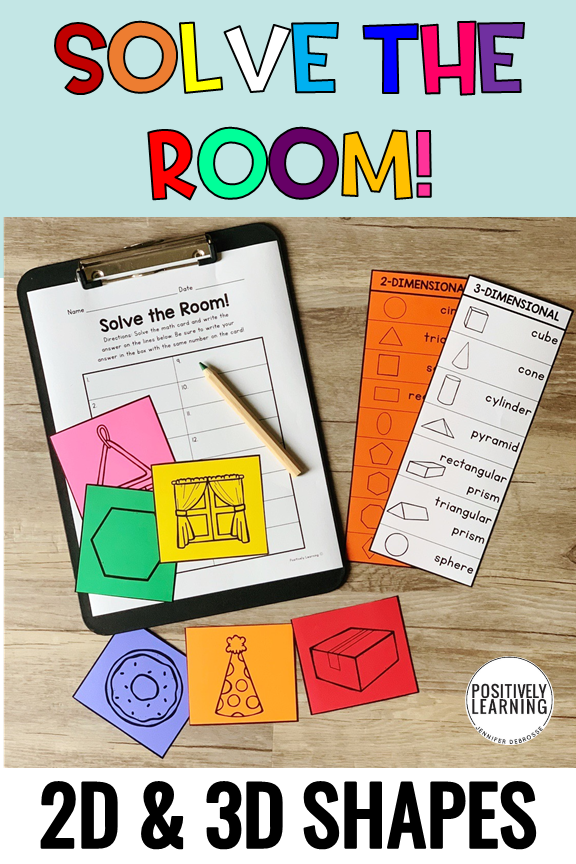 Here's all our favorite ways to practice with 2D and 3D shapes during our geometry unit. From small groups to centers, plus digital Boom Cards, we've got it covered!