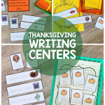 Here's a Thanksgiving themed sentence writing packet perfect for autumn and the holidays. Add these thankful activities to your small groups and centers!