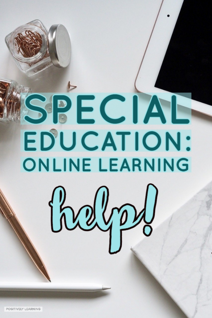 "Online learning for special education - where do I even begin?"" Here's a quick cheat sheet that provides an overview of ideas to get started with distance learning."