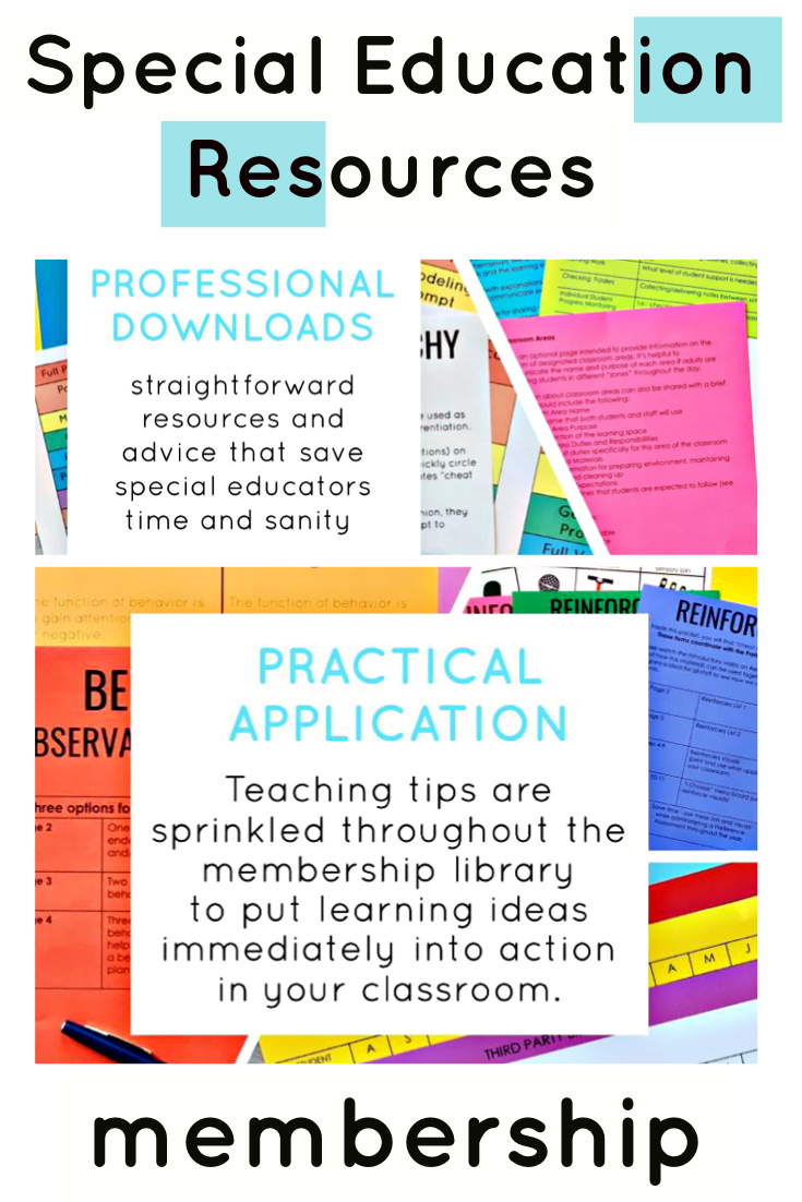 resources for special education teachers