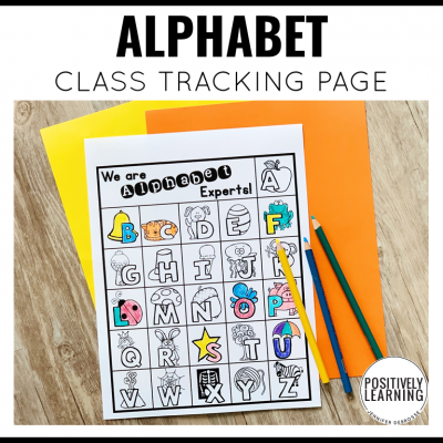 Alphabet Visual Tracker