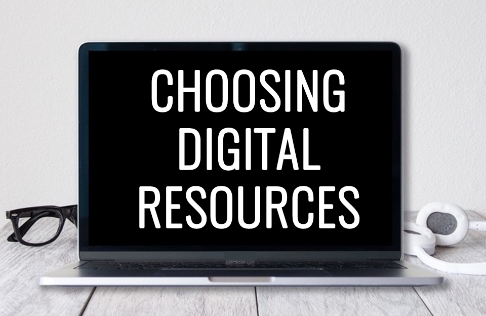 Choose the best digital resources for your students working in the special education setting! Use this checklist to vet materials.