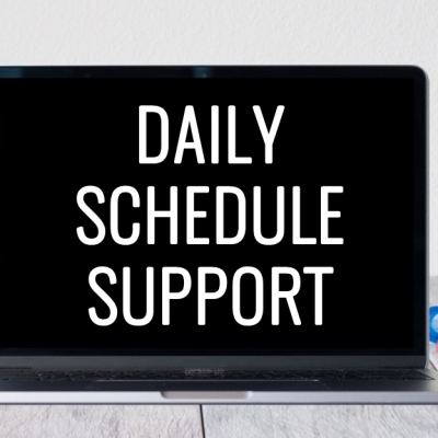 Daily Schedule Support