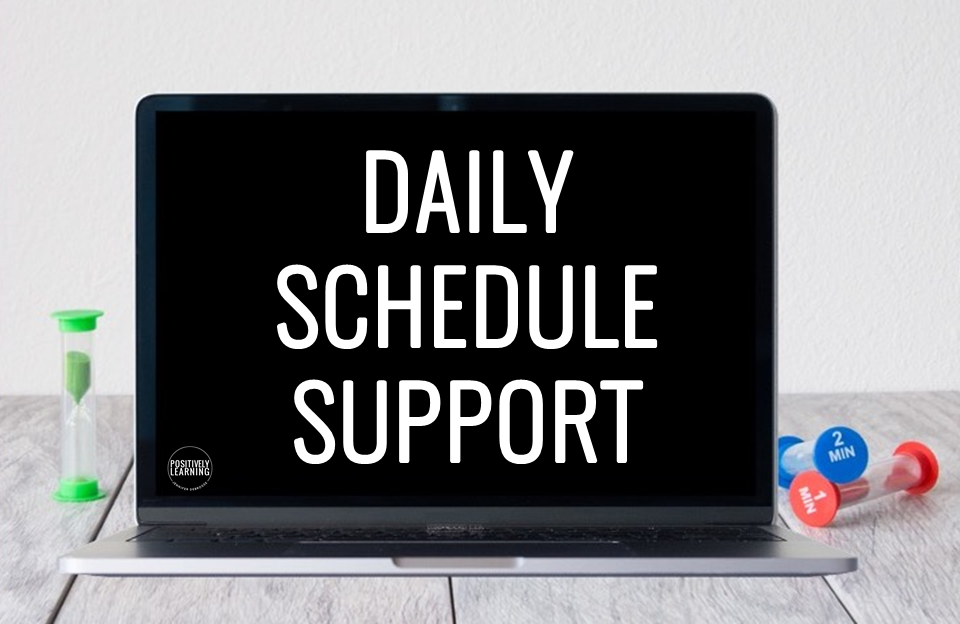 Daily Schedule Tracker – an open-ended visual schedule to support activities at home or school. Get ready to tackle the day with this free download!