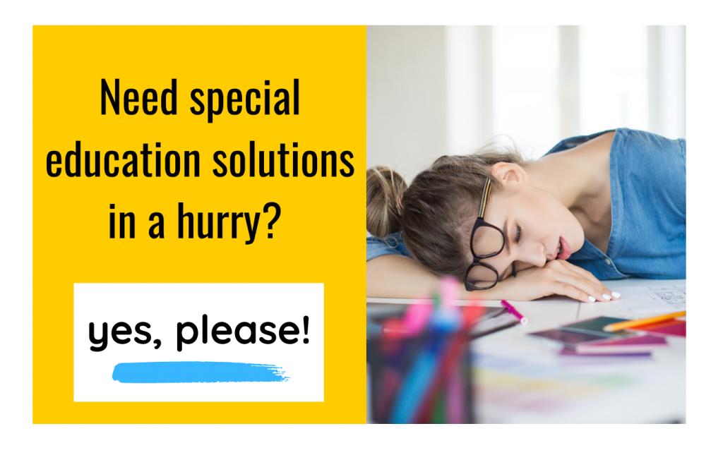 IEP goals help for special educators