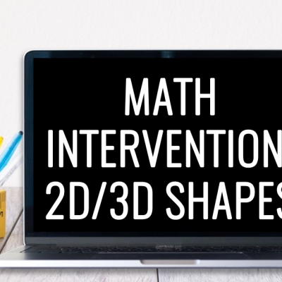 Geometry Ideas for Math Intervention
