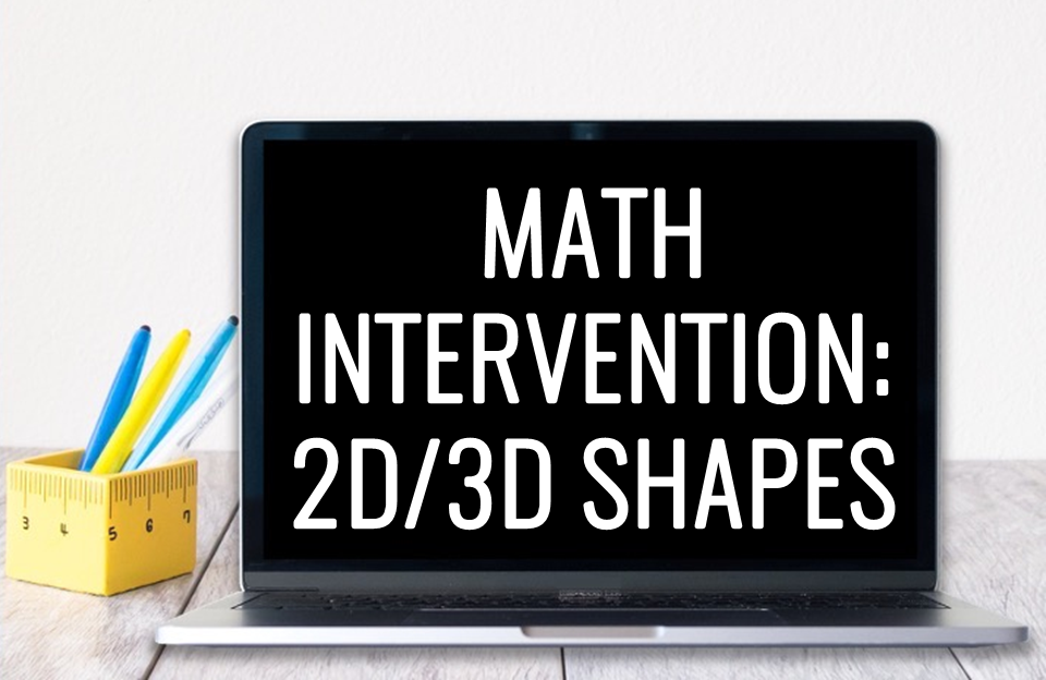 Here's all our favorite ways to practice with 2D and 3D shapes during our geometry math unit. From small groups to centers, plus digital Boom Cards, we've got it covered!