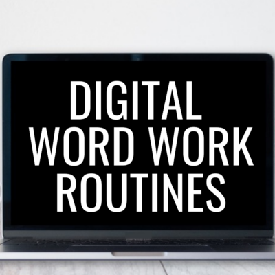 Digital Word Work for All Year