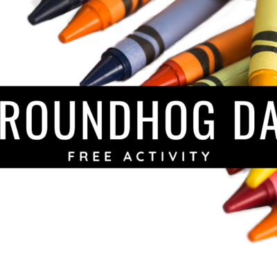 Free Groundhog Activity