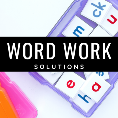 Word Work Solutions