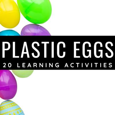 Plastic Easter Egg Activities